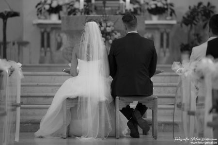 Diskretes Fotografieren in der Kirche