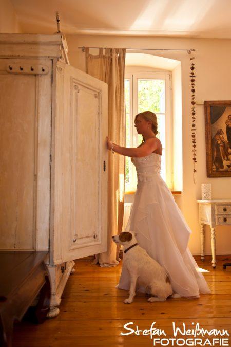 Wo ist der Bräutigam