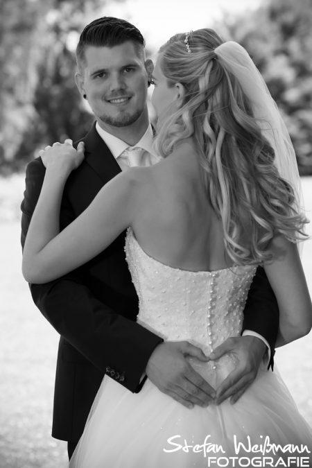 Das Herz bei der Braut