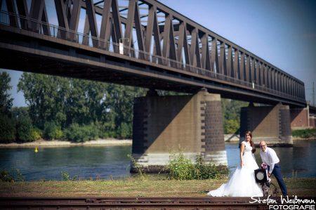 Fotografien unter der Brücke