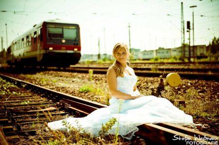Hochzeit Shooting im Wormser Bahnhof