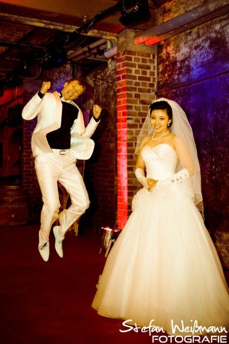 Hochzeit Fotografie im Weinkeller
